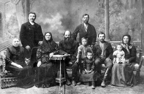 Купеческая семья
